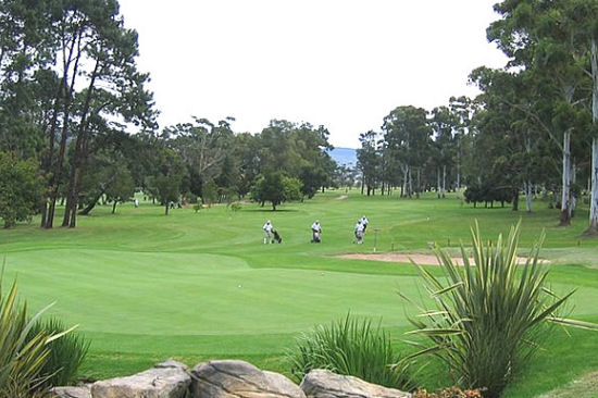 Golf in the Knysna Area